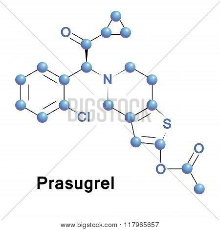 Prasugrel platelet inhibitor