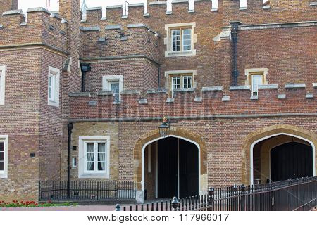 St. James's palace, royal residence and home for Charles