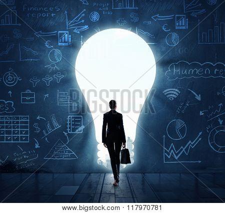 Bright idea for new success