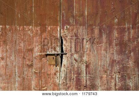 im Alter von Tür detail