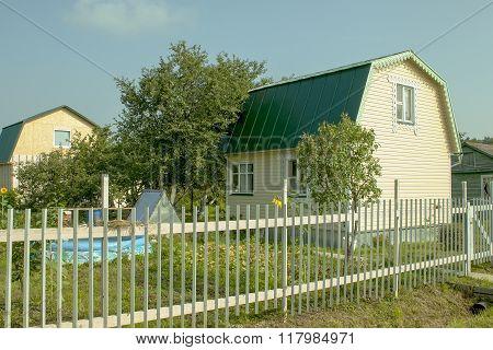 Russia. The Cozy Seasonal Dacha In The Village