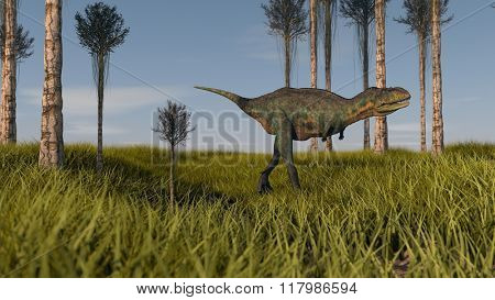 aucasaurus in agarwood grove