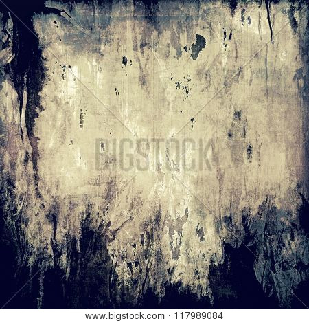 Grunge colorful background or old texture for creative design work. With different color patterns: yellow (beige); brown; blue; gray; black
