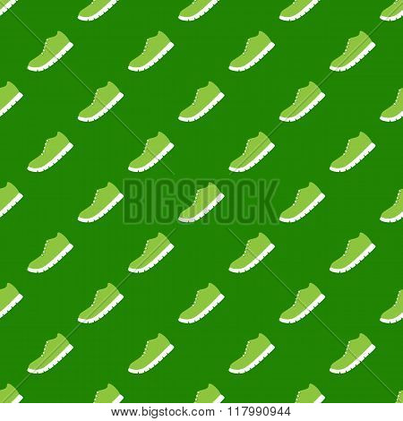 Pattern With Running Shoe