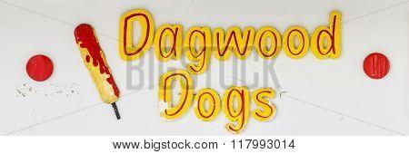 Dagwood Dogs Sign