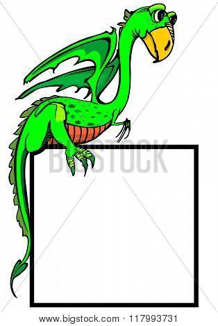 dragon childrens illustration