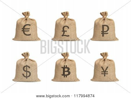 Bags With Money.
