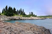 A Cove In Maine