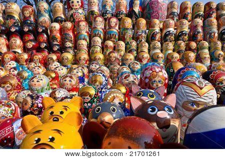 Russian national souvenirs