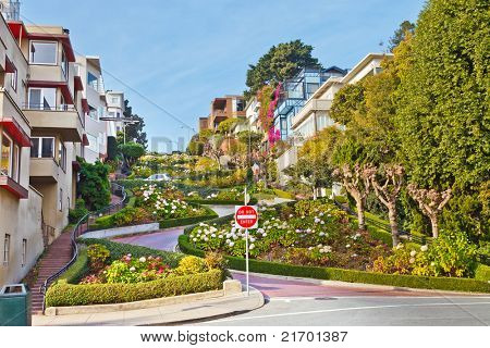 Lombard Street in San Francisco