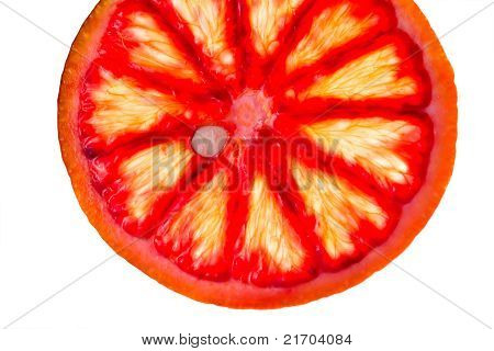 Sliced Blood Orange