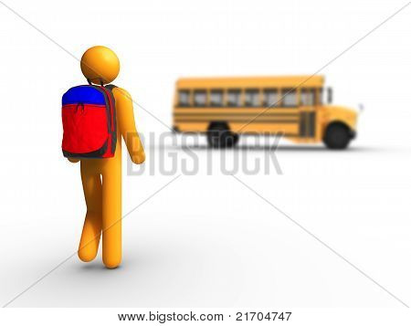 Getting On The School Bus
