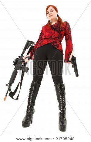 Pellet Air Rifle And Handgun