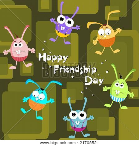 kiddish concept background for friendship day