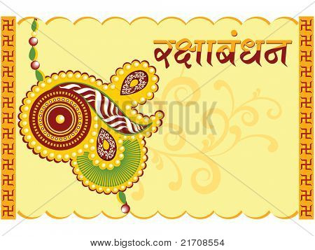 background with isolated greeting card