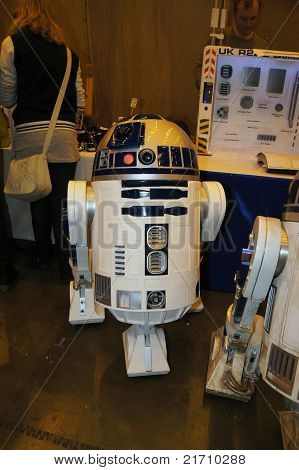 R2D2 At The London Film And Comic Con In Earls Court London 10 July 2011