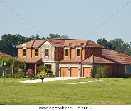 Large Custom Home.