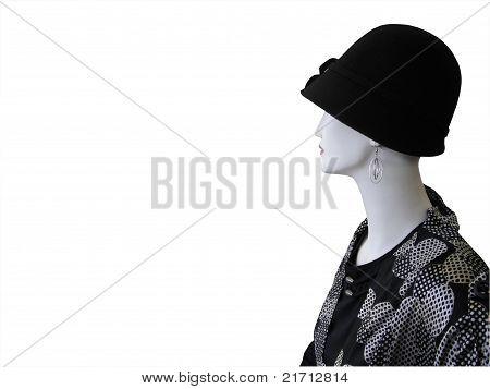 Mannequin In Back Hat