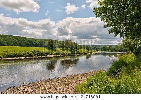 Fluss Ribble landschaftlich