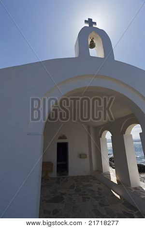 Church In Crete Island.