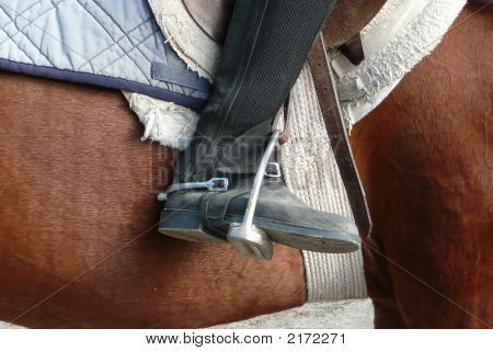 Horse And Boot