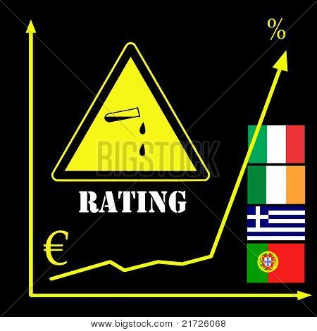 Rating Agencies and the Euro