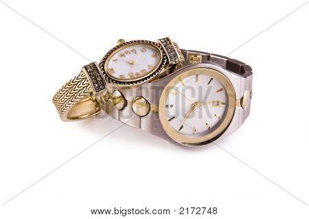 Mens e Senhoras relógios de pulso
