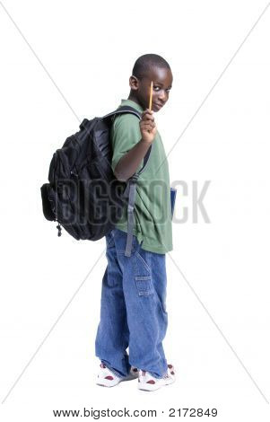 Young Male Student
