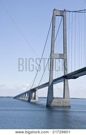 Great Belt Bridge in Denmark