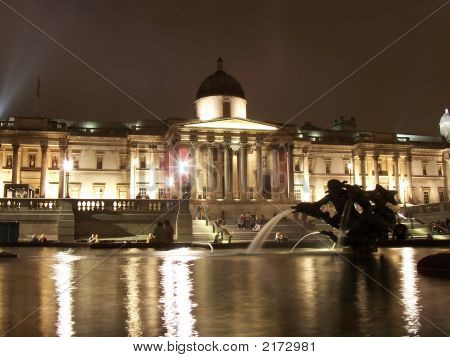 National Gallery Night View
