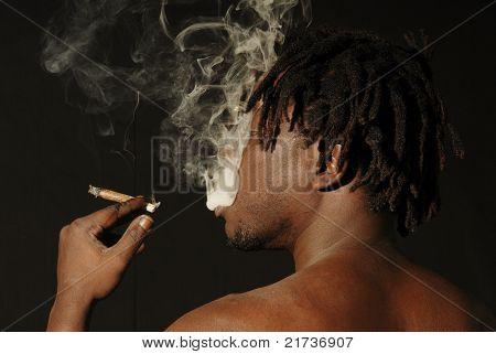 Fumador africana