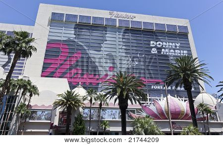 A View Of The Flamingo In Las Vegas, Nevada