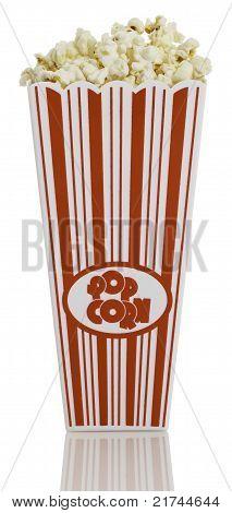 Fron view of Popcorn Box