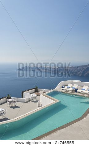 Santorini Luxury Pool