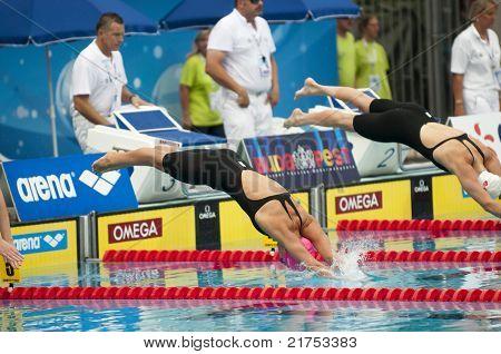 Yulia Efimova (russia) At European Swimming Championships 2010