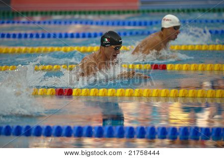 Fabio Scozzoli (italy) At European Swimming Championships Len 2010