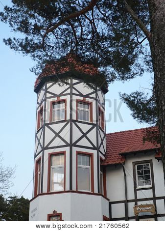 House With Tower