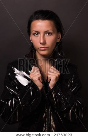Female Spy In Latex