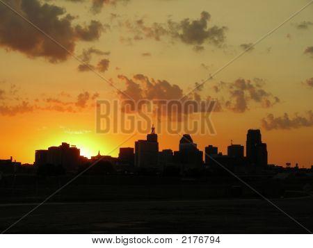Sunset Over St. Paul