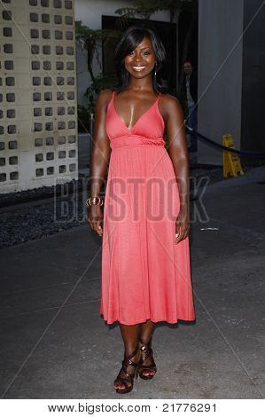 LOS ANGELES - AUG 30: Erica Tazel at the Season Three premiere screening of 'Sons of Anarchy' at the Cinerama Dome in Los Angeles, California on August 30, 2010