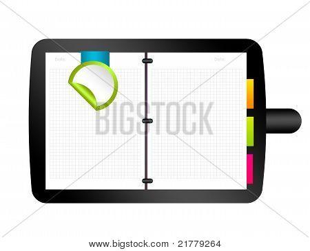 Ilustração do organizador