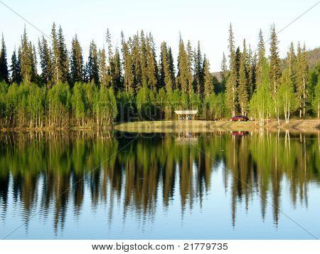Camping Reflections