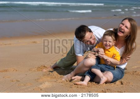 Family Fun At The Beach