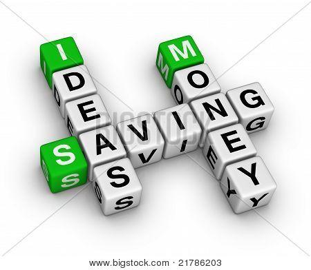 Ideas Saving Money Crossword