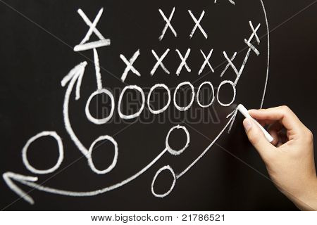 Hand Drawing A Game Strategy