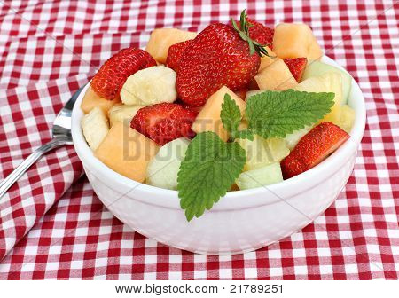 Healthy Fresh Fruit Salad