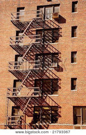 Fire Escape, New York