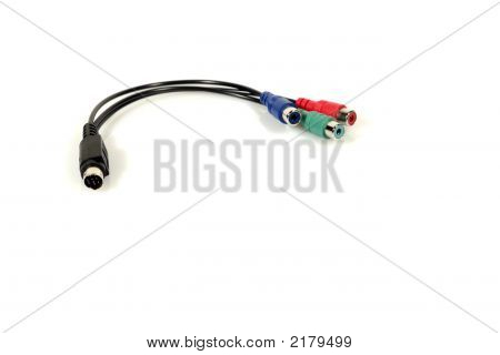 S-Video To Cinch (Rca) Connector (3)
