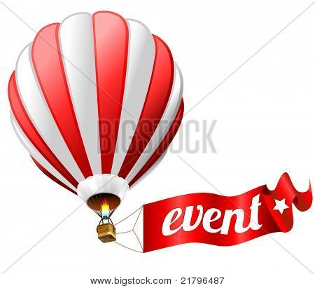event icon - hot air balloon