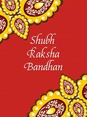 image of rakshabandhan  - greeting card for shubh rakshabandhan - JPG